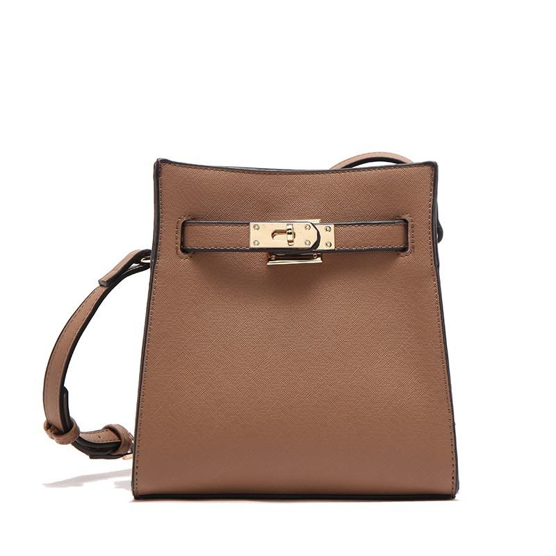Túi đeo chéo thời trang Micocah HSC118 / Nâu
