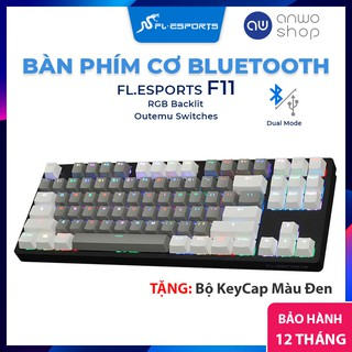 Bàn Phím Cơ Không Dây FL-ESPORTS F11 KeyCap PBT GW, Kết Nối Bluetooth & Dây Cáp, Đèn Nền RGB, Windows MacOS iOS Android thumbnail