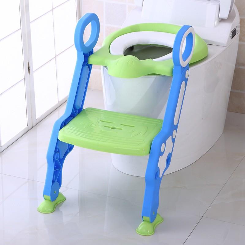 Thang ghế toilet cho bé - New