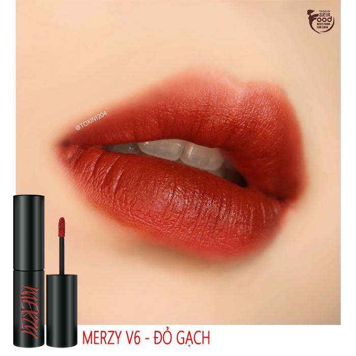 [New][V1-V18] Son kem lì Merzy The First Velvet