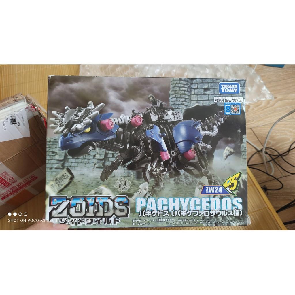 Mô hình lắp ráp thú vương đại chiến zoids wild pachycedos ZW24