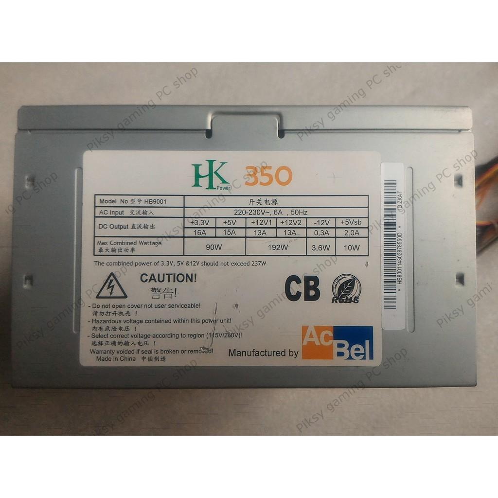 PSU / Nguồn máy tính AcBel HK 350 (ATX 350W) - 2763784 , 1014796419 , 322_1014796419 , 165000 , PSU--Nguon-may-tinh-AcBel-HK-350-ATX-350W-322_1014796419 , shopee.vn , PSU / Nguồn máy tính AcBel HK 350 (ATX 350W)