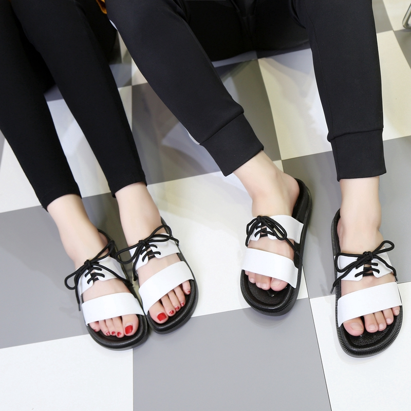 Summer Large Size Fashion Casual Couple Slippers