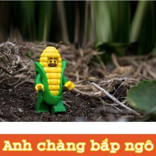 LEGO Minifigures Người Ngô – Nhân Vật LEGO Corn Cob Guy (Anh Chàng Bắp Ngô)