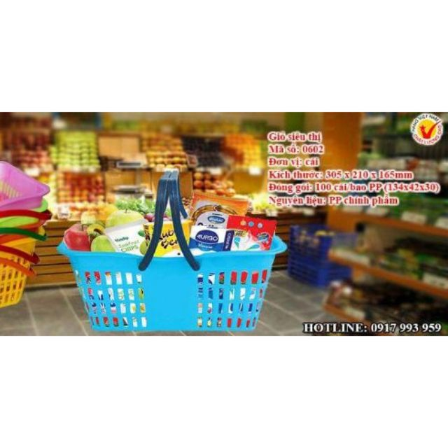 Giỏ siêu thị