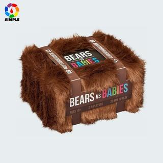 Card Game Bears vs Babies Bộ thẻ bài trò chơi Đầu Gấu đại chiến Em Bé board game bóp nhau siêu bựa lầy cho group party thumbnail