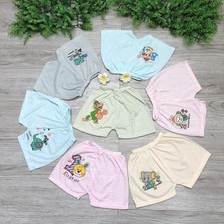 Quần đùi chất cotton mềm mát thấm hút tốt cho bé yêu (lẻ 1 quần)