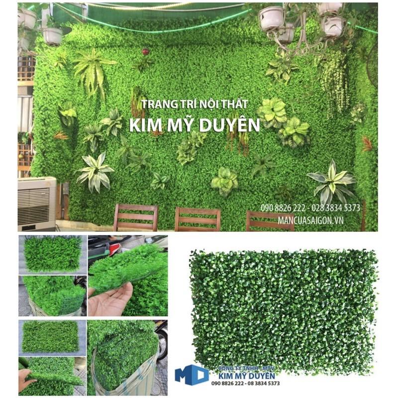 thảm cỏ nhân tạo( vĩ cỏ xoang size: 40cm x 60cm)