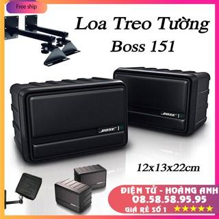 Loa cặp treo tường Boss 151- Boss 101 / hàng loại 1..bao chuẩn