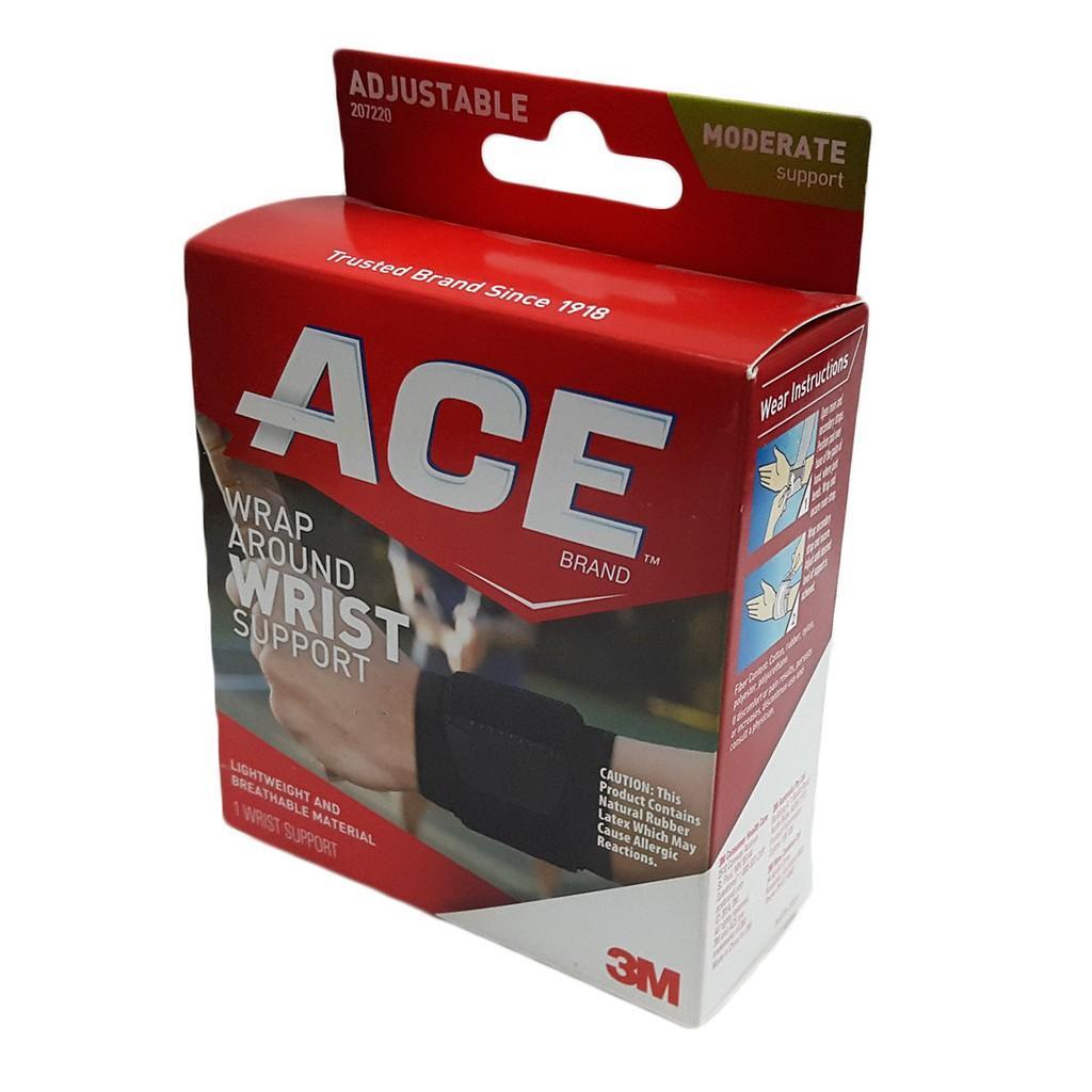 Băng quấn cổ tay hỗ trợ chấn thương ACE Wrap vừa mọi cỡ tay