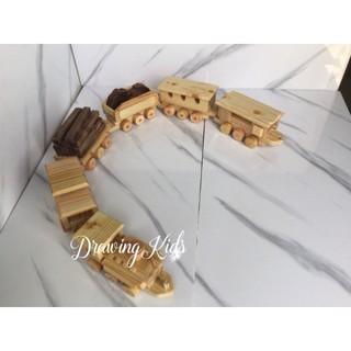 Đồ chơi gỗ – Đoàn tàu hỏa