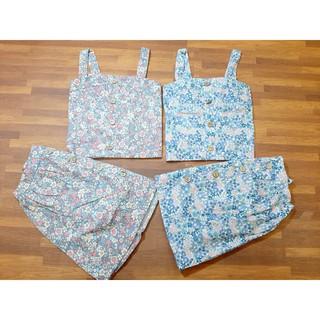 Váy hoa nhí phối cúc cho bé gái 7-15kg T0061) thumbnail