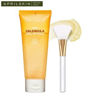 Set mặt nạ lột tẩy da chết Aprilskin Calendula Peel Off Pack + cọ Aprilskin Real Jelly Brush thumbnail