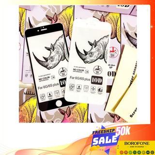 Kính cường lực iPhone 10D Tê Giác Loại 1 FREESHIP Cho 6 7 6Plus 7Plus X XR XsMax 11 11Pro 11ProMax 1