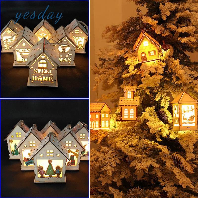 Ngôi nhà gỗ có đèn LED dùng trang trí cây thông Giáng Sinh - 23073448 , 7211031307 , 322_7211031307 , 85000 , Ngoi-nha-go-co-den-LED-dung-trang-tri-cay-thong-Giang-Sinh-322_7211031307 , shopee.vn , Ngôi nhà gỗ có đèn LED dùng trang trí cây thông Giáng Sinh