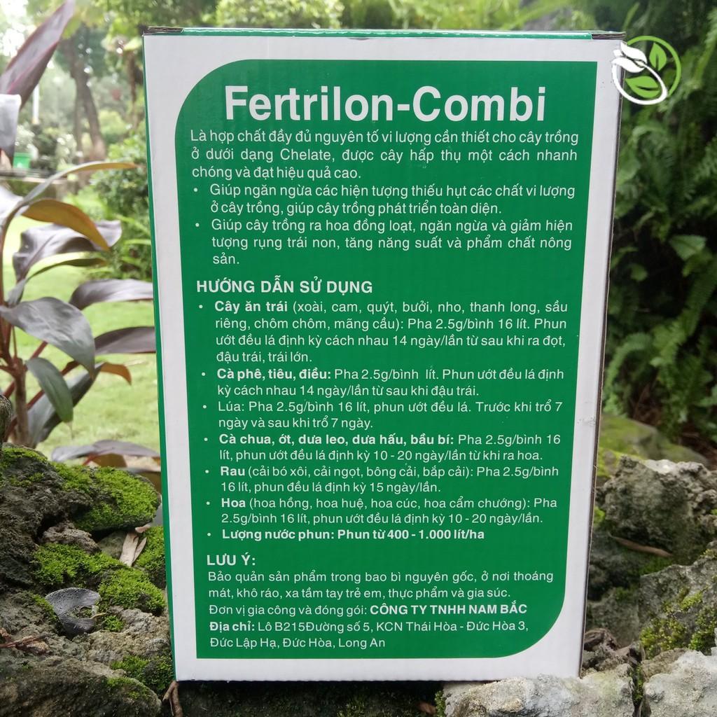 Phân Bón Vi Lượng Qua Lá Fetrilon - Combi -  Gói 25g