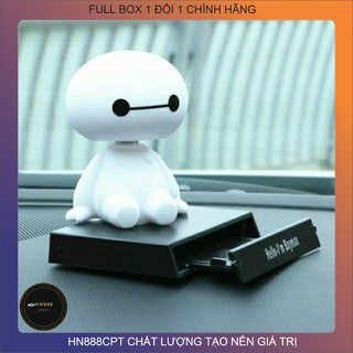 [FreeShip-xả kho] Mô hình baymax BIGHERO giá đỡ điện thoại , mô hình nhân vật baymax trưng bày