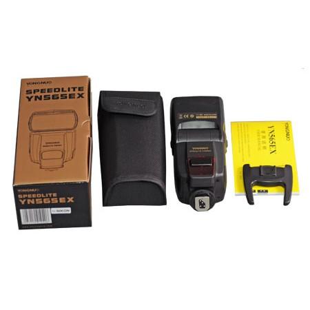 Combo Đèn flash Yongnuo YN 565EX Nikon/Canon+ combo Pin sạc DBK620+1 Omni bouce