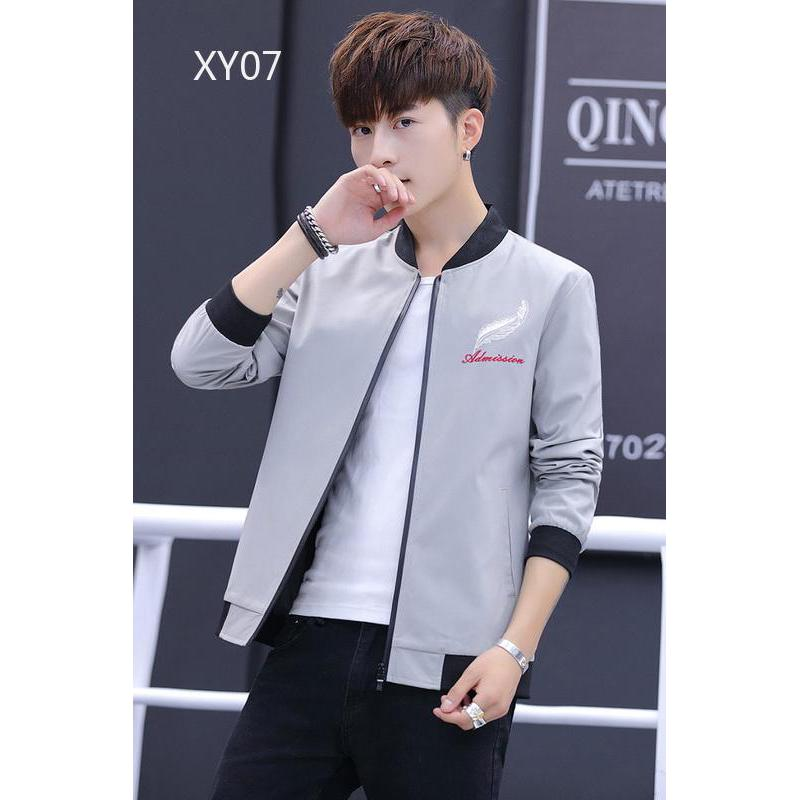 xinyao07.vn 💕Windbreaker coat Korean Men's clothing jacket quality male Clothing loose clothes trend generous fashion