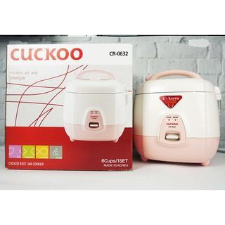 [Mã ELMALL300 giảm 7% đơn 500K] Nồi cơm điện 1 lít Cuckoo CR-0632 chính hãng bảo hành toàn quốc