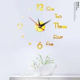 RẺ VÔ ĐỊCH Đồng hồ dán tường/đồng hồ treo tường