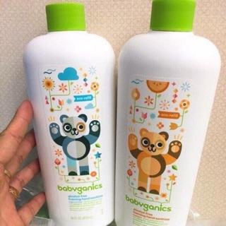 Nước rửa tay khô diệt khuẩn Babyganics – Chính hãng Mỹ
