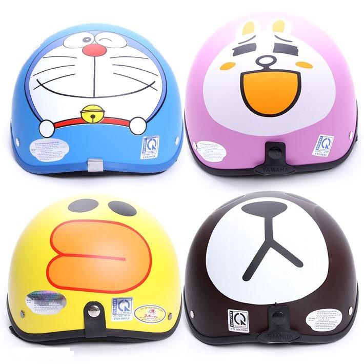 Nón Bảo Hiểm Doraemon Gấu Brown Thỏ Cony Mèo Kitty - 2881281 , 93117170 , 322_93117170 , 90000 , Non-Bao-Hiem-Doraemon-Gau-Brown-Tho-Cony-Meo-Kitty-322_93117170 , shopee.vn , Nón Bảo Hiểm Doraemon Gấu Brown Thỏ Cony Mèo Kitty