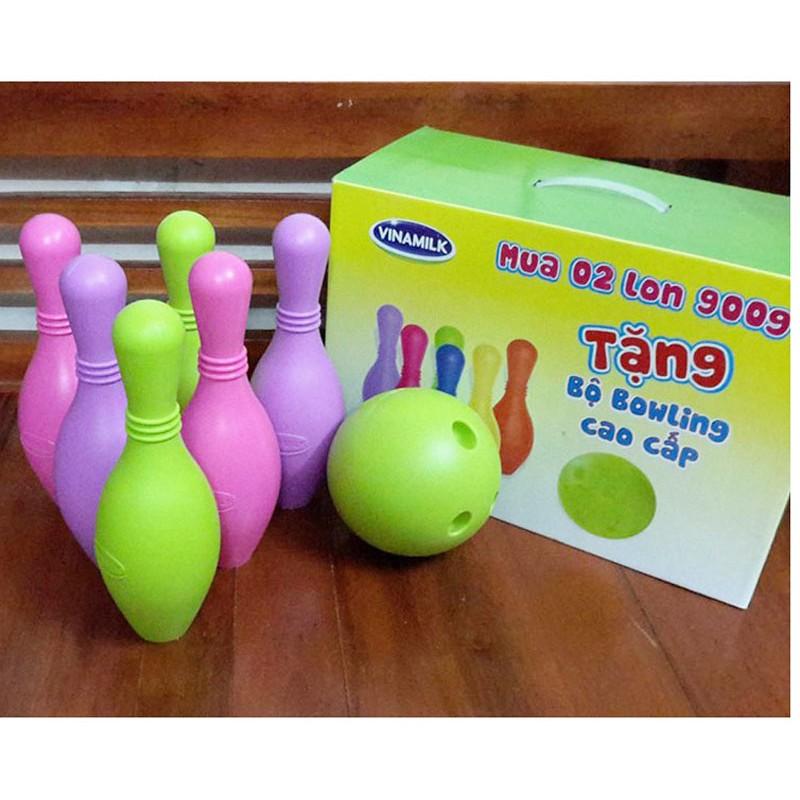 Bộ đồ chơi bowling vinamilk