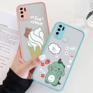Ốp điện thoại bề mặt nhám họa tiết hoạt hình dành cho Huawei Y7p Y6p Nova 7i Nova 5t Y9s Y6s Y9 Y7 Y6 Pro Prime 2019