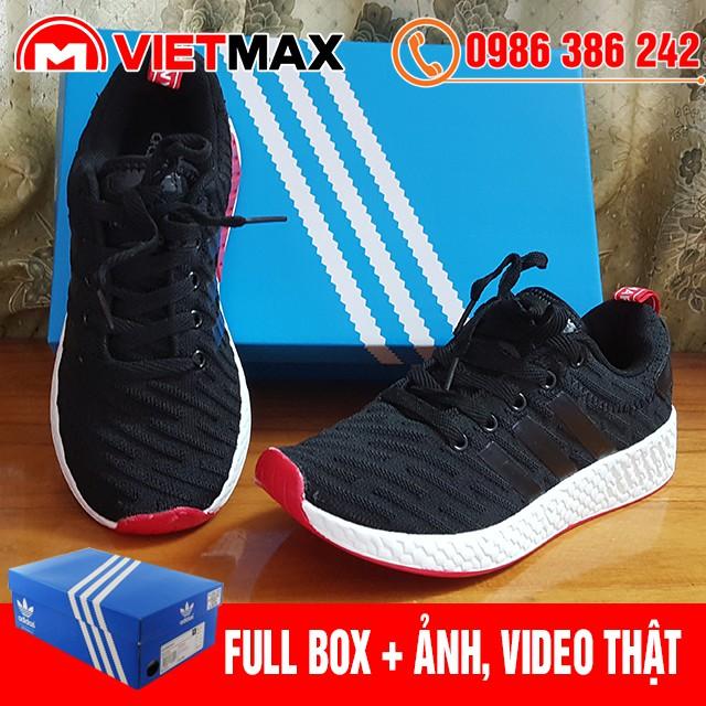 ? [FREE SHIP + BOX] Giày Adidas R2 Đen Đỏ Hàng Việt Nam
