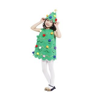 Bộ Đồ Hóa Trang Cây Thông Giáng Sinh Dễ Thương Cho Bé