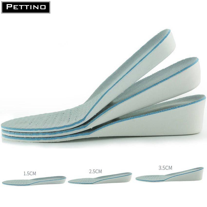 Cặp Lót giày nam cao cấp tăng chiều cao 1.5cm - 3.5cm êm chân, thoáng khí và khử mùi - PETTINO - TX02
