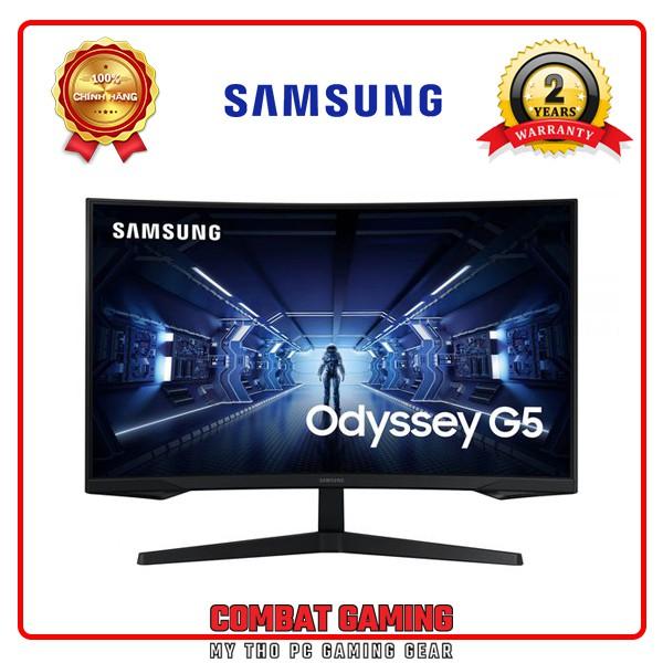 """Màn Hình Cong SAMSUNG LC32G55 32"""" 2K 144Hz FreeSync ODYSSEY G5"""