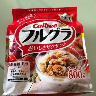 (Hà nam) Ngũ cốc sấy khô Calbee nội địa Nhật 800g thumbnail