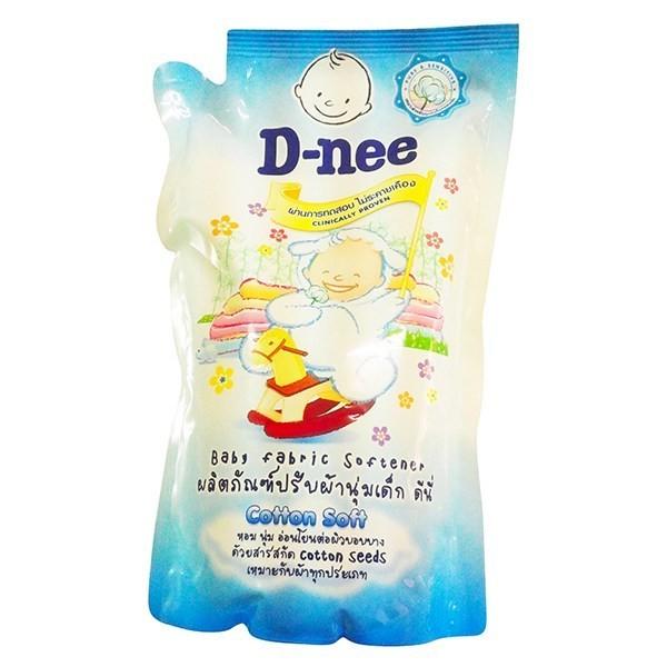 Nước xả Dnee gói trắng 600ml mềm vải M093