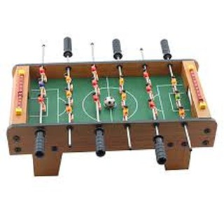 (HÀNG HÓT 2020) Tò chơi mô hình bàn bóng đá mini 51x31x10 cm được làm bằng gỗ siêu bền dành cho bé trên 3 tuổi loại 1