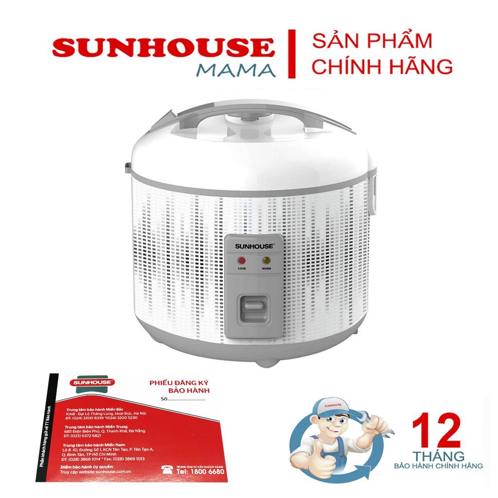 Nồi cơm điện 1,8l sunhouse SHD8601 - Bảo hành 12 tháng
