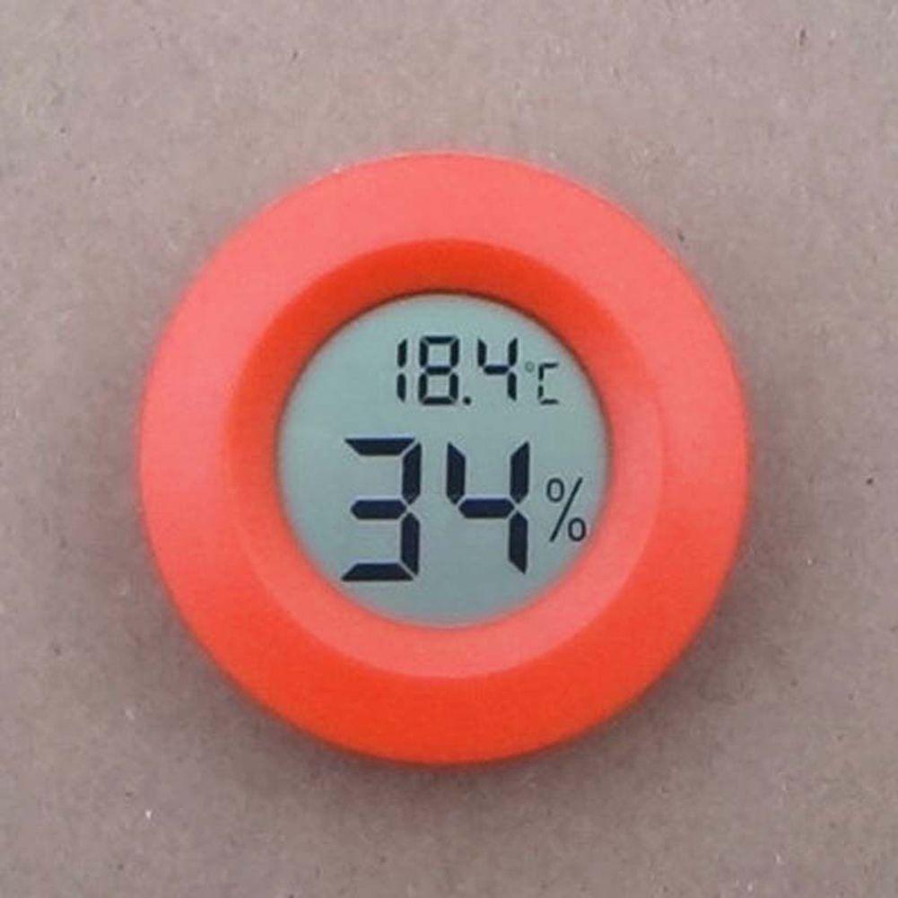 Digital Meter Gauge LCD Temperature Humidity Hygrometer Reptile Thermometer New