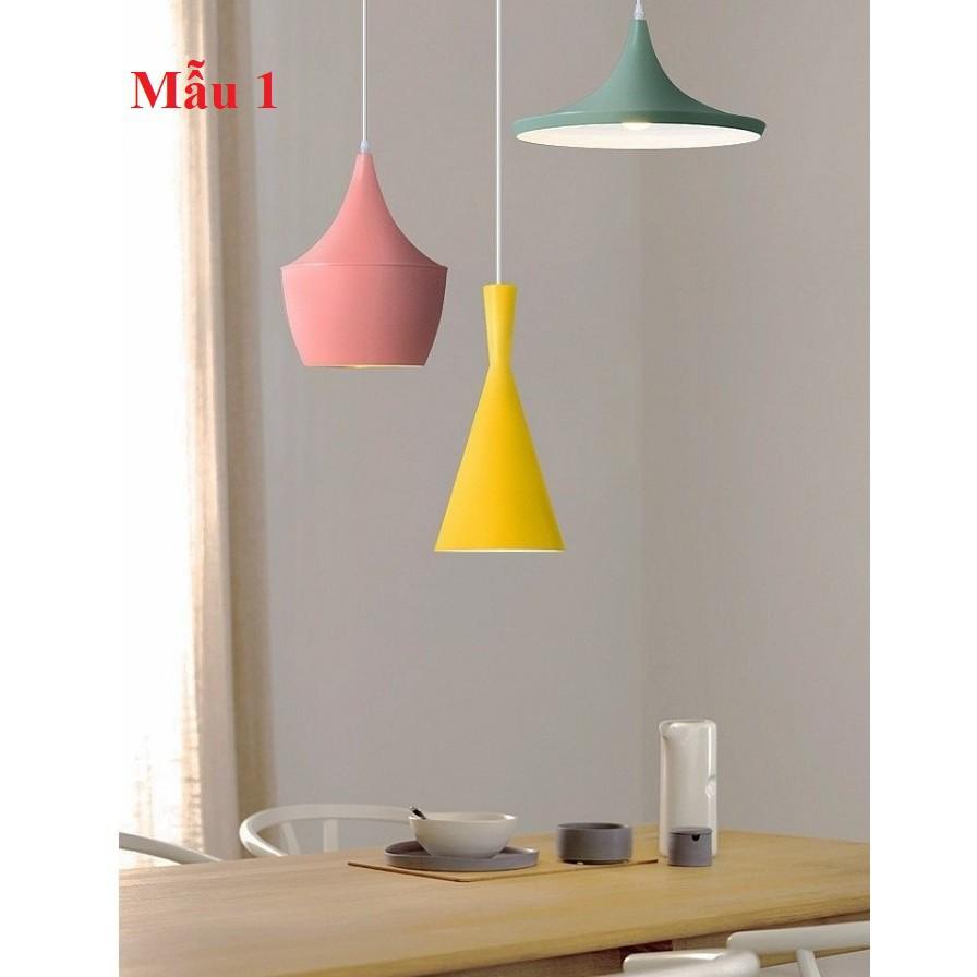 Bộ 3 đèn thả trần kiểu dáng Bắc Âu, đèn thả bàn ăn, đèn trang trí 3TBB