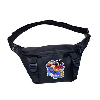 Túi bao tử đeo chéo, đeo hông TROY in họa tiết hoạt hình Onepiece thumbnail