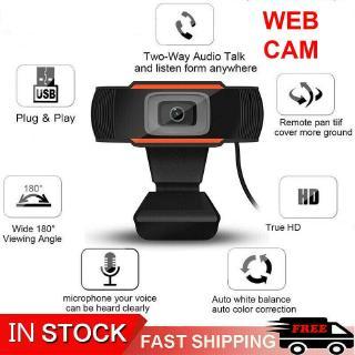 Webcam Độ Phân Giải 1080P Chất Lượng Cao có microphone Thu hình cho máy tính, pc, TV, để bàn