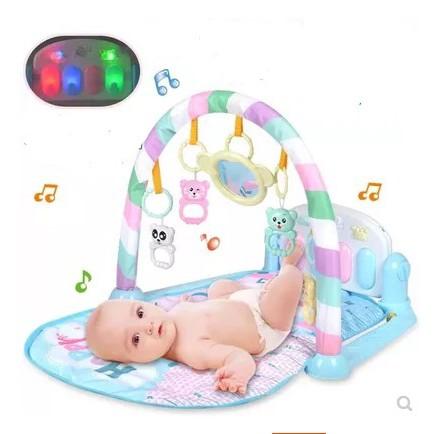 HÀNG ĐÃ CÓ SẴN - GIÁ TỐT NHẤT - Thảm nằm chơi nhạc cho bé 0-1 3-6-12 tháng tuổi