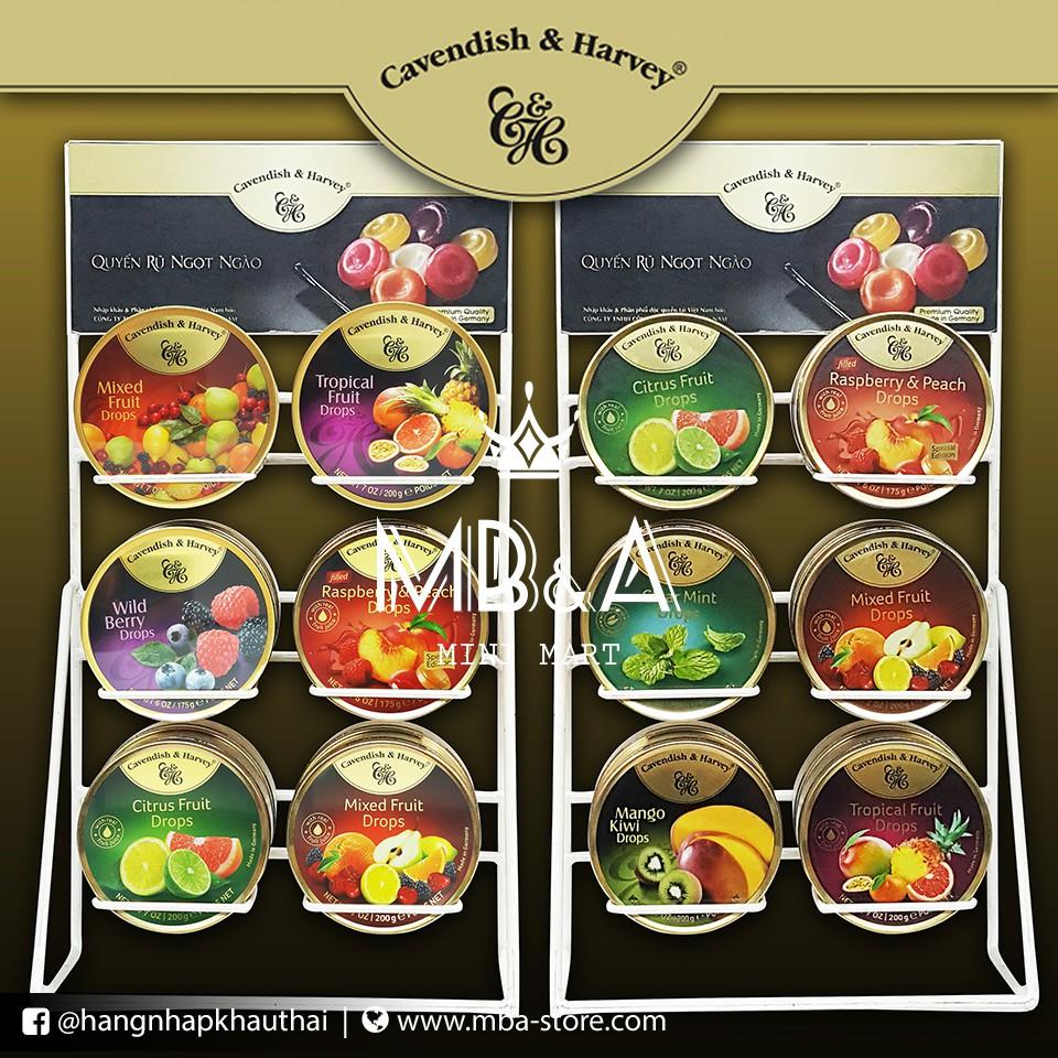 Kẹo trái cây Cavendish & Harvey - Đức
