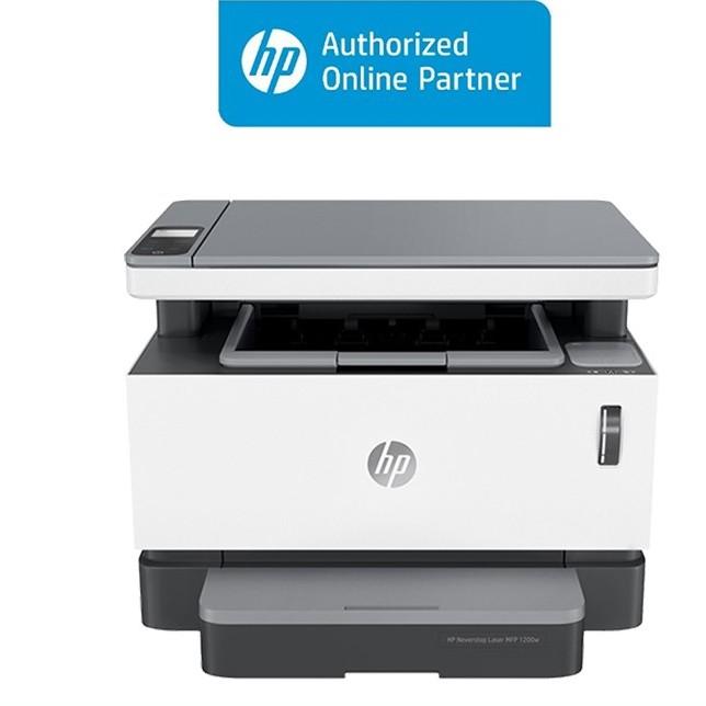 [Mã ELMALL7 giảm 7% đơn 499K] Máy in đa chức năng HP Neverstop Laser MFP 1200w (4RY26A) Wifi
