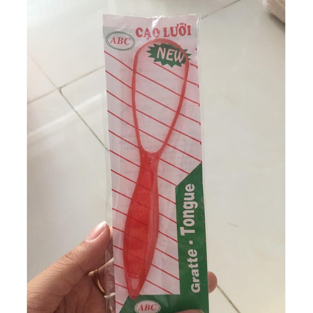 Thìa cạo lưỡi, đồ nạo lưỡi / Dụng cụ làm sạch lưỡi