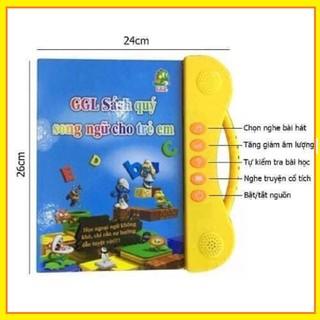 Sách điện tử song ngữ Anh- Việt cho bé 2-7 tuổi