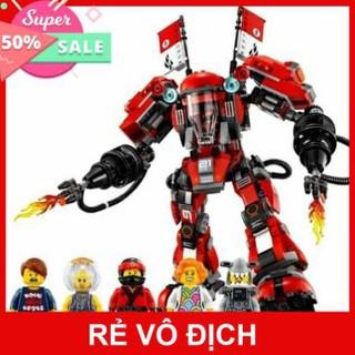 Sale 11.11 Xếp Hình Lego Người máy SAMURAI Khổng Lồ của KAI. Gồm 980 Chi Tiêt. Lego Ninja Movie đồ chơi bé trai