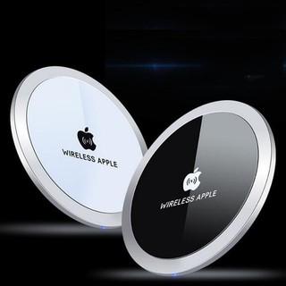 Đế sạc nhanh không dây Fast Wireless chuẩn QI mẫu mới nhất 15W hỗ trợ đa năng các dòng điện thoại Iphone samsung sony
