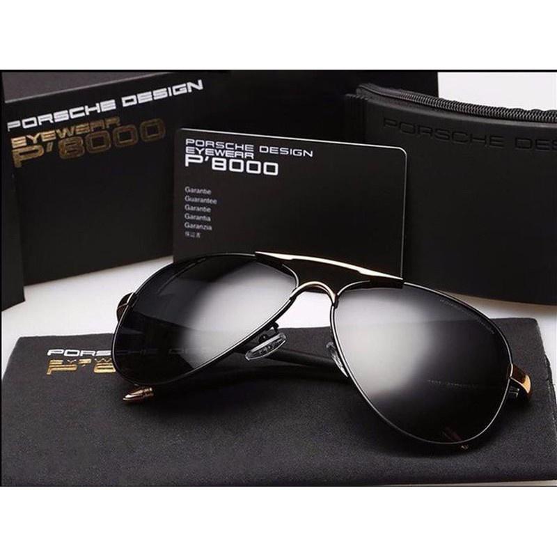✙✔️ Mắt Kính Thời Trang Porsche P8000 Full Box- Bảo hành 1 Năm