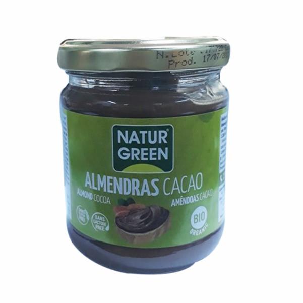 Bơ hạnh nhân cacao hữu cơ Naturgreen 200g